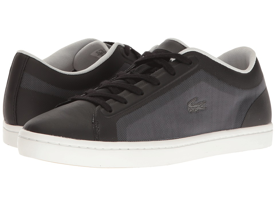 Lacoste - Straightset 316 2 (Black) Women's Shoes