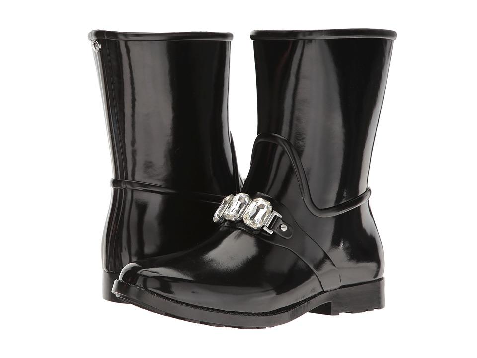 MICHAEL Michael Kors - Leslie Rain Bootie (Black) Women's Rain Boots