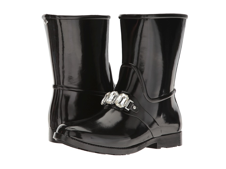 MICHAEL Michael Kors Leslie Rain Bootie (Black) Women