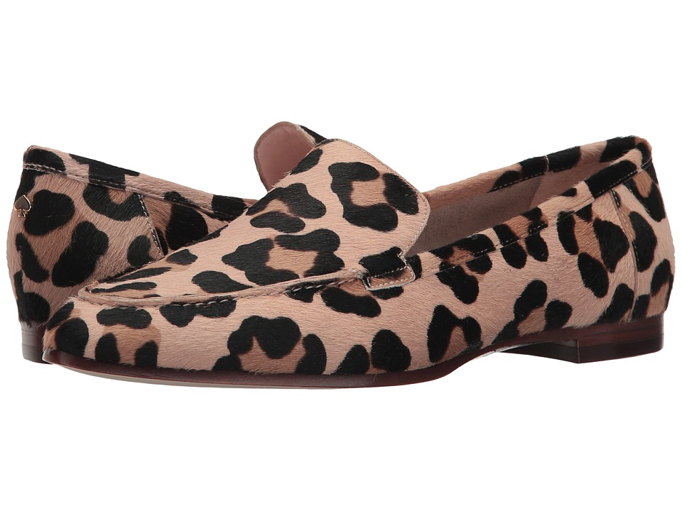 Kate Spade New York Carima Blush-Fawn Leopard Haircalf Slip on Shoes