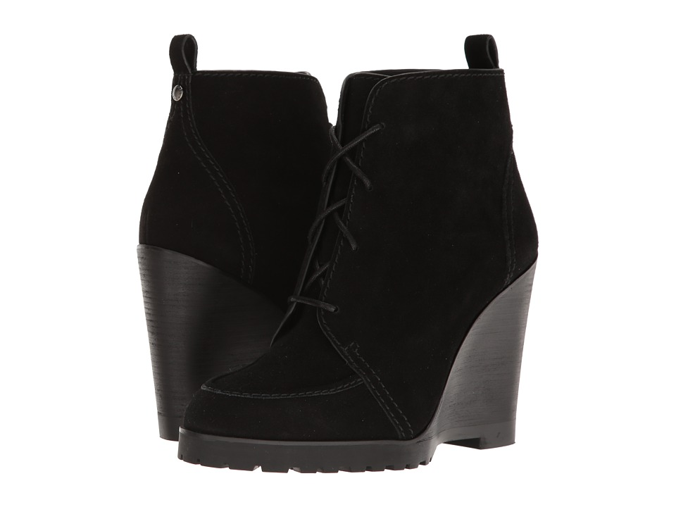 MICHAEL Michael Kors - Piper Wedge (Black) Women's Wedge Shoes