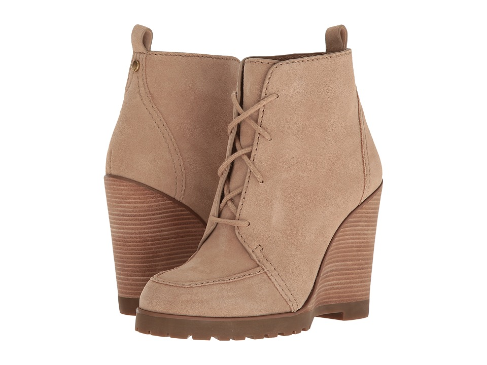 MICHAEL Michael Kors - Piper Wedge (Dark Khaki) Women's Wedge Shoes