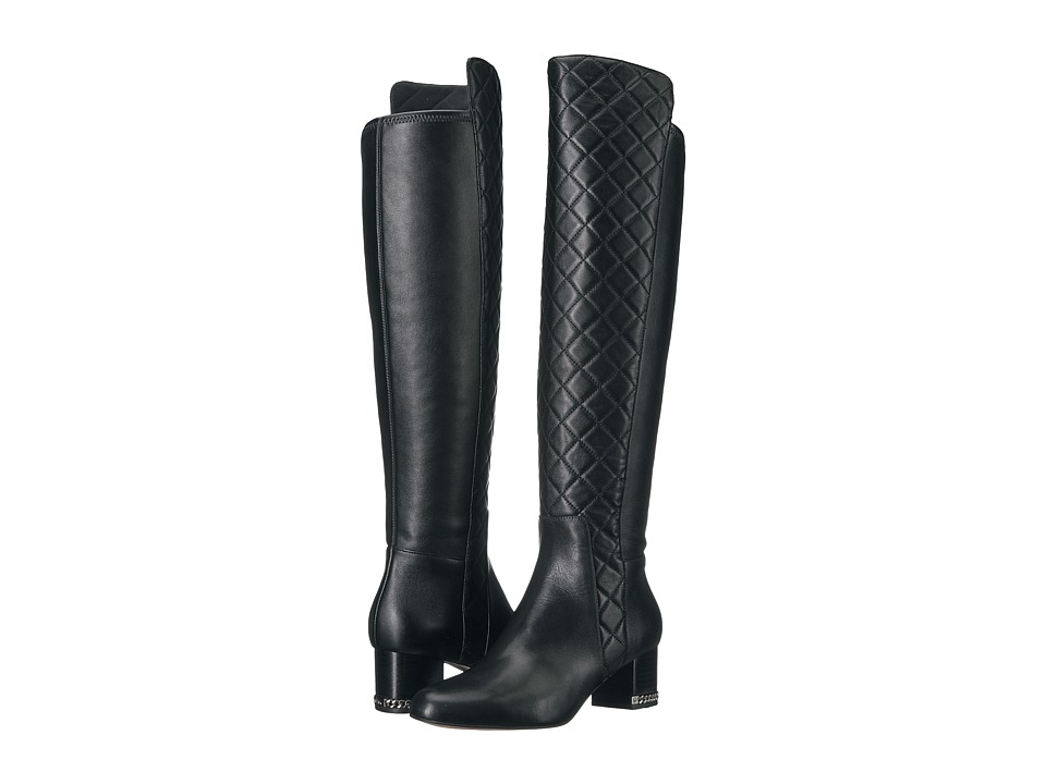 MICHAEL Michael Kors Sabrina OTK Boot (Black) Women