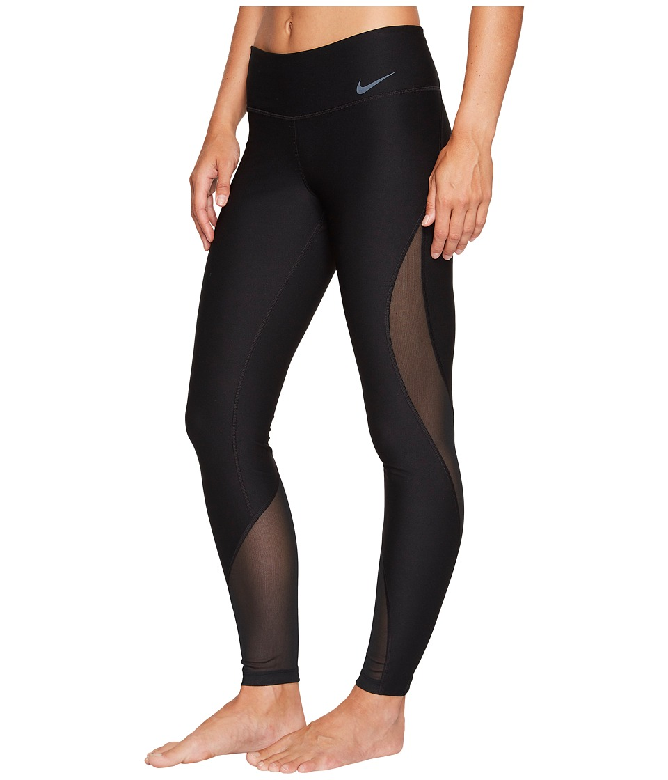 Nike - Power Training Tight (Black/Black) Women's Workout
