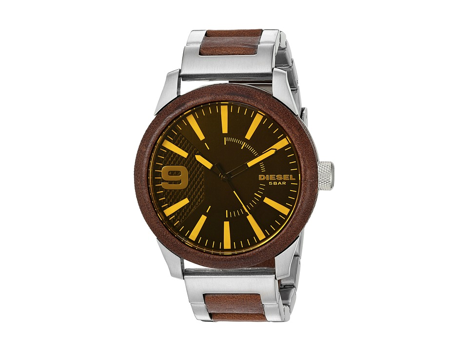 Diesel - Rasp - DZ1799 (Silver/Brown) Watches