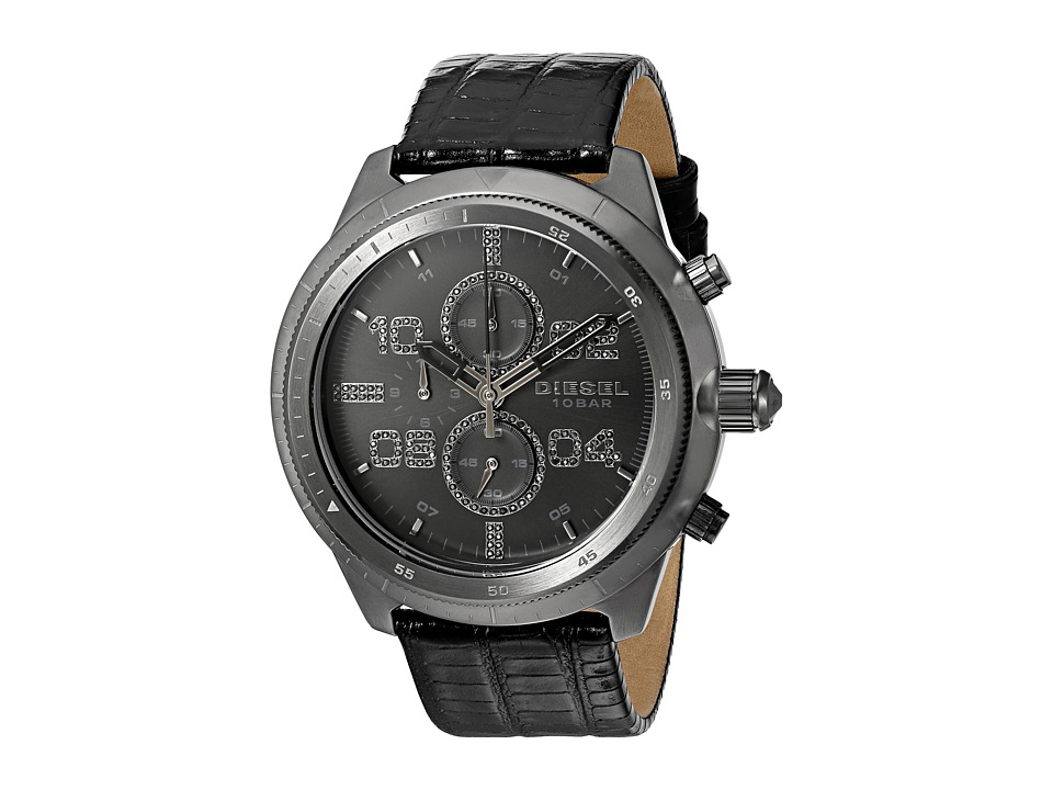 Diesel - Padlock - DZ4437 (Black) Watches