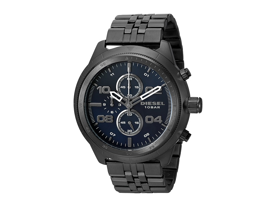 Diesel - Padlock - DZ4442 (Gunmetal) Watches