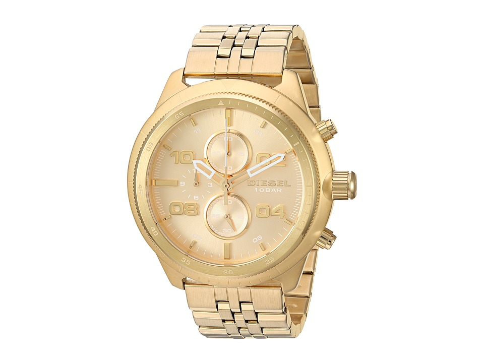 Diesel - Padlock - DZ4441 (Gold) Watches