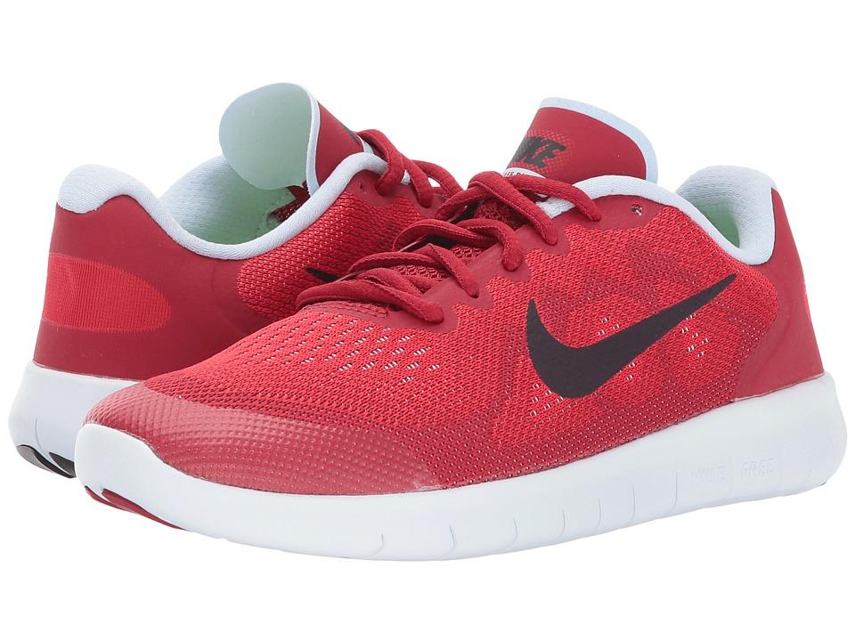 Nike Kids Free RN 2 (Big Kid) (University Red/Port Wine/Tough Red) Boys Shoes