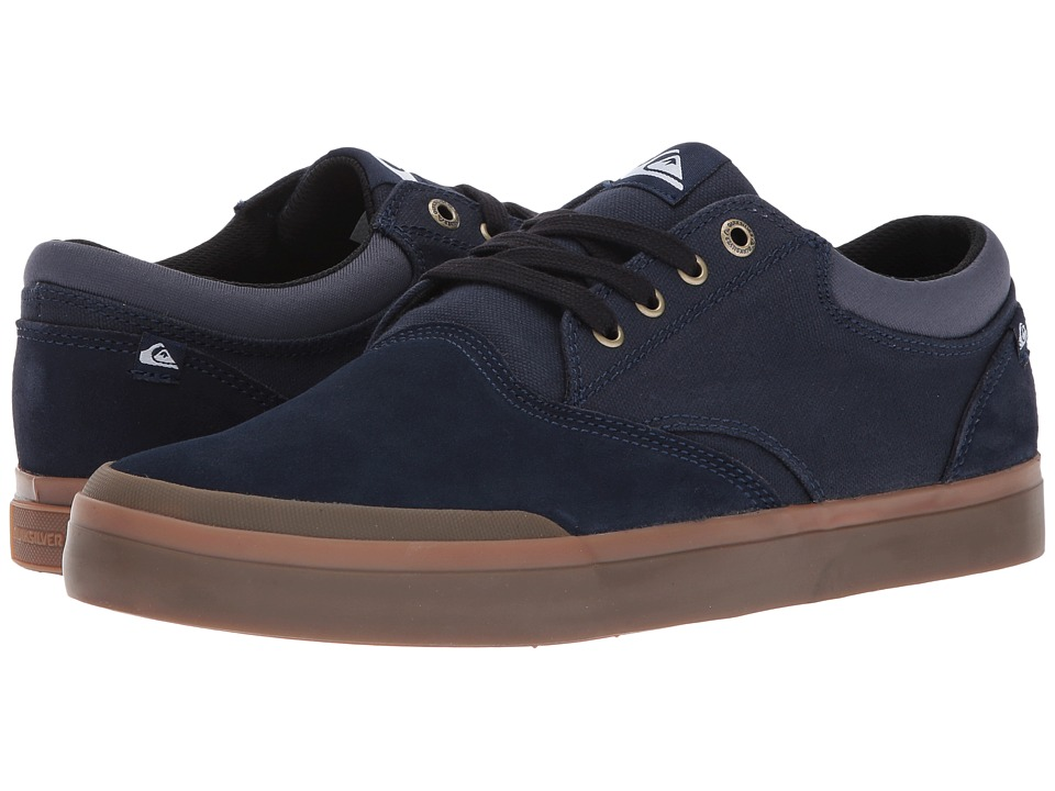 Quiksilver - Verant (Blue/Brown/Blue) Men's Skate Shoes