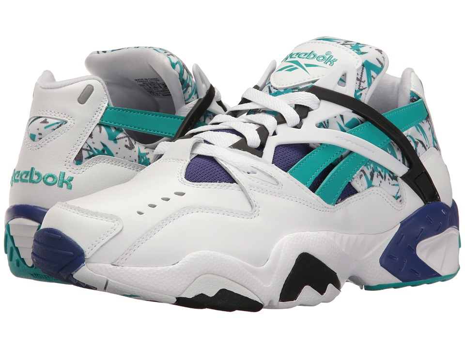 Reebok - Graphlite Pro (White/Enamel Green/Night) Men's Shoes