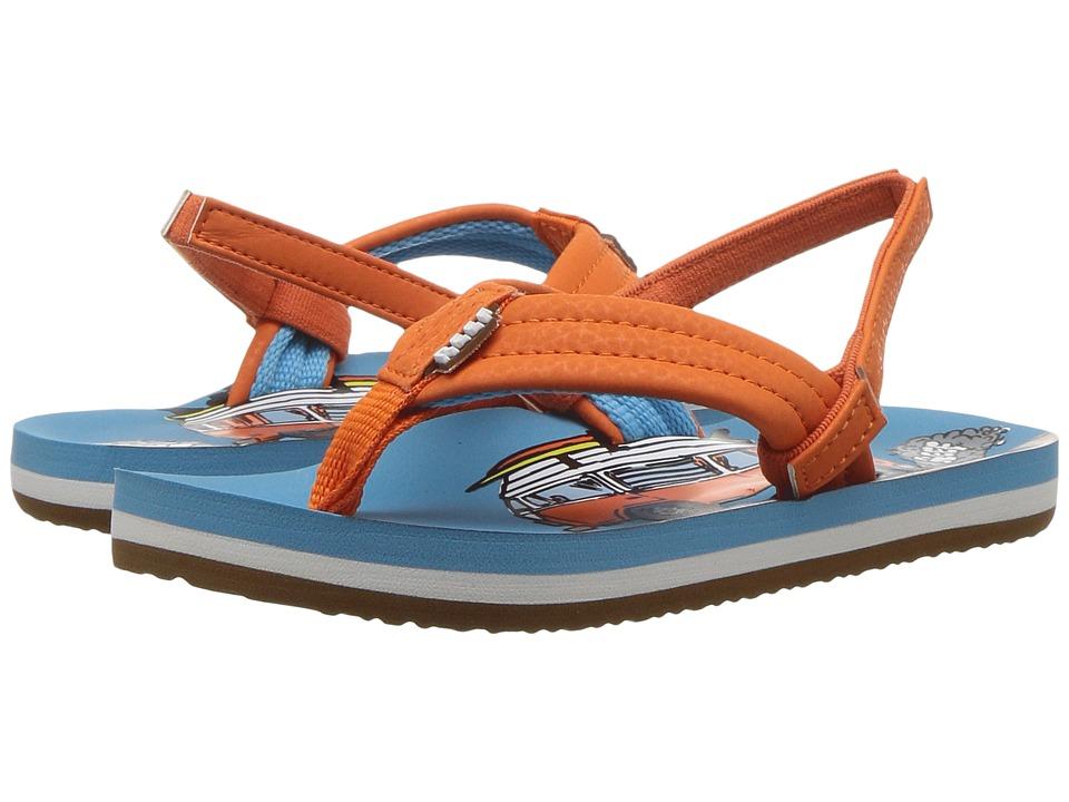 Reef Kids Ahi (Infant/Toddler/Little Kid/Big Kid) (Old Bus) Boys Shoes