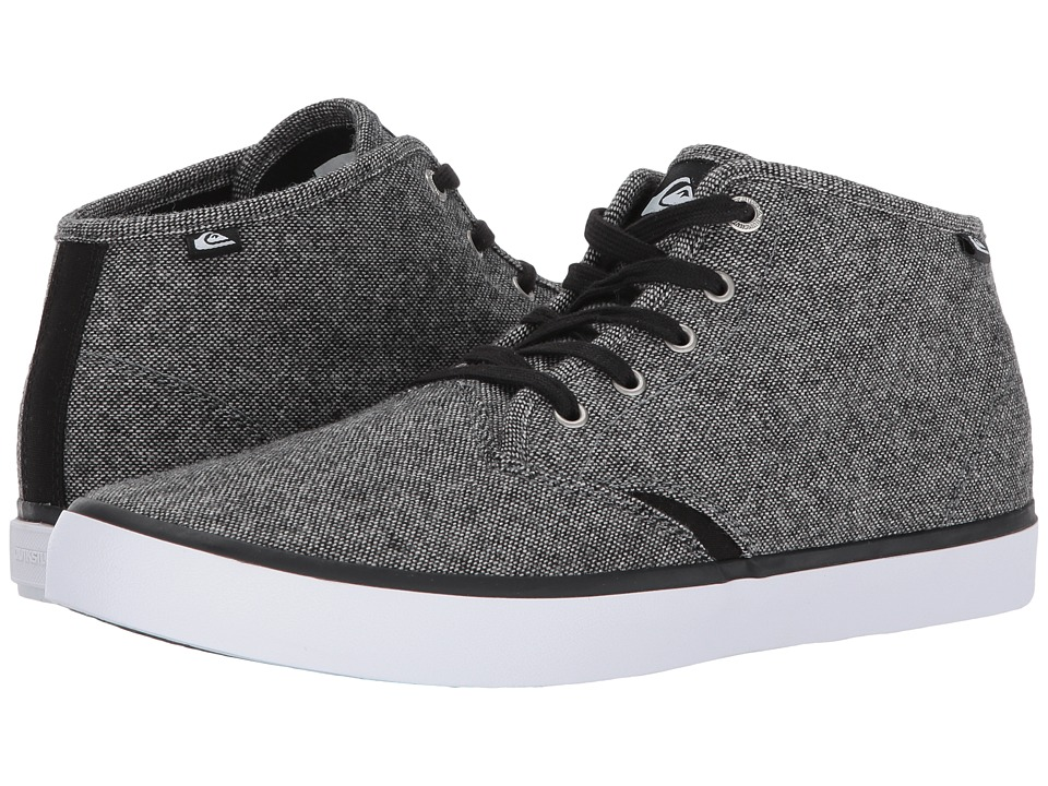 Quiksilver - Shorebreak Mid (Grey/Black/White) Men's Lace up casual Shoes
