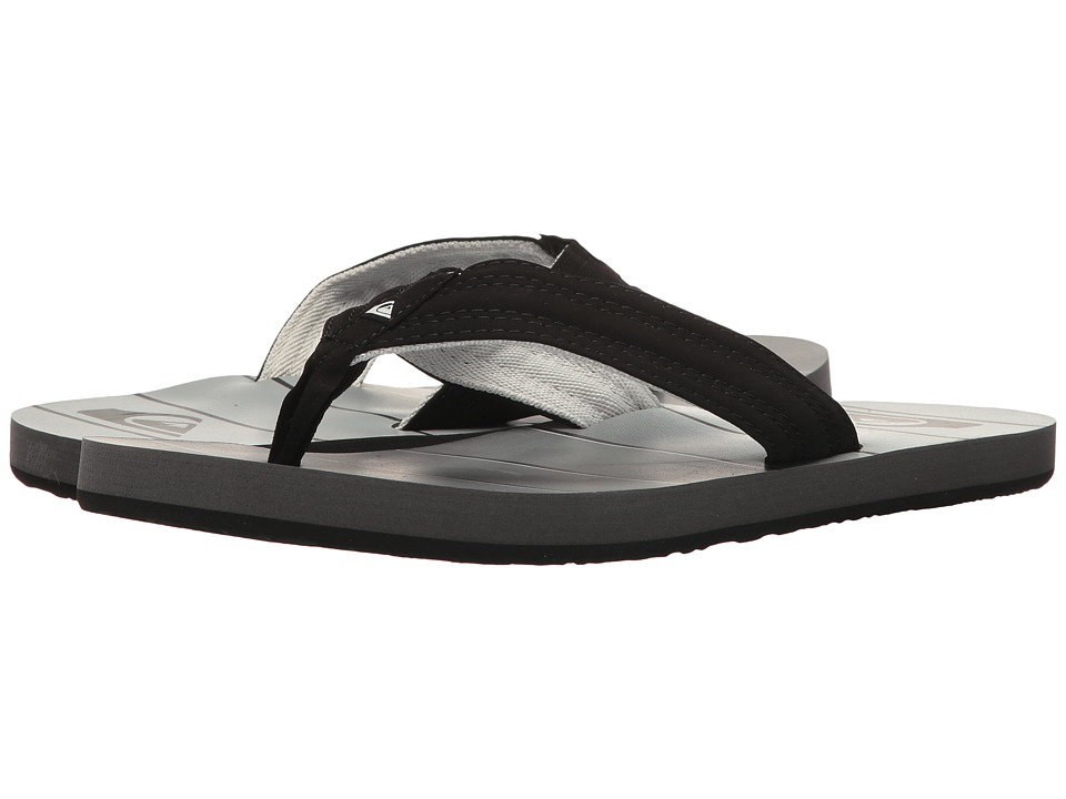 Quiksilver - Basis (Black/Grey/Black) Men's Sandals