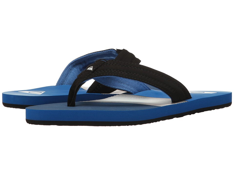 Quiksilver - Basis (Blue/Black/Grey) Men's Sandals