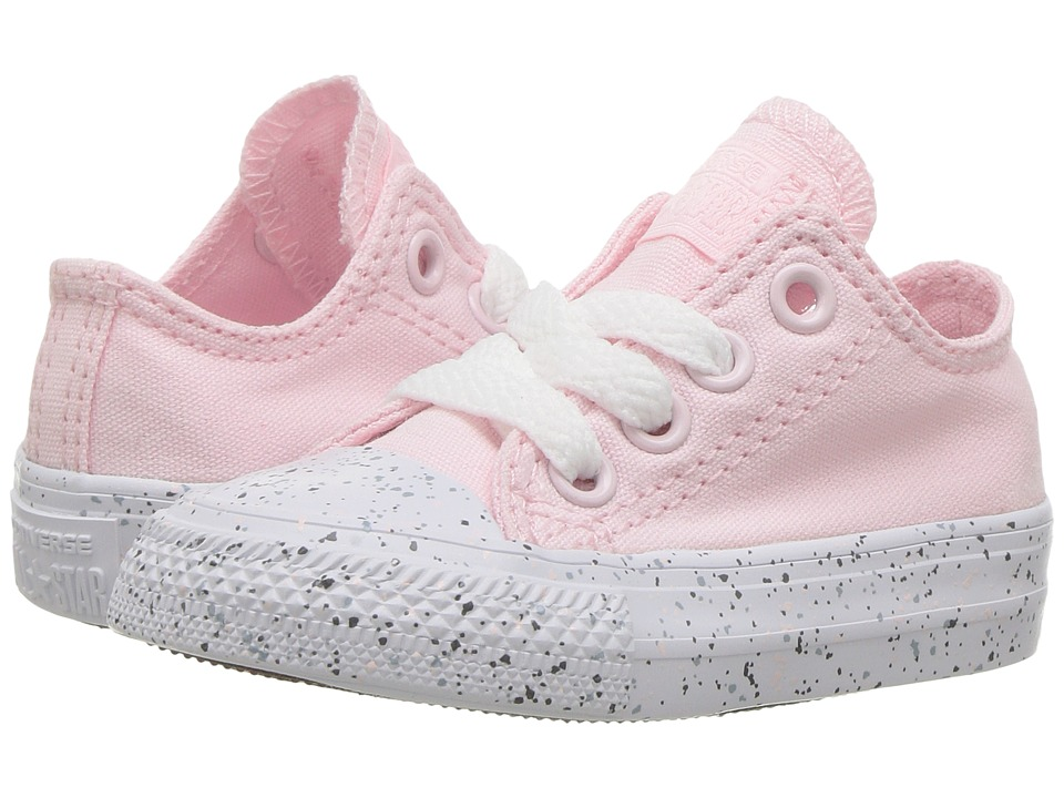 Converse Kids - Chuck Taylor All Star Speckled Midsole Ox (Infant/Toddler) (Arctic Pink/White/Multi) Girl's Shoes