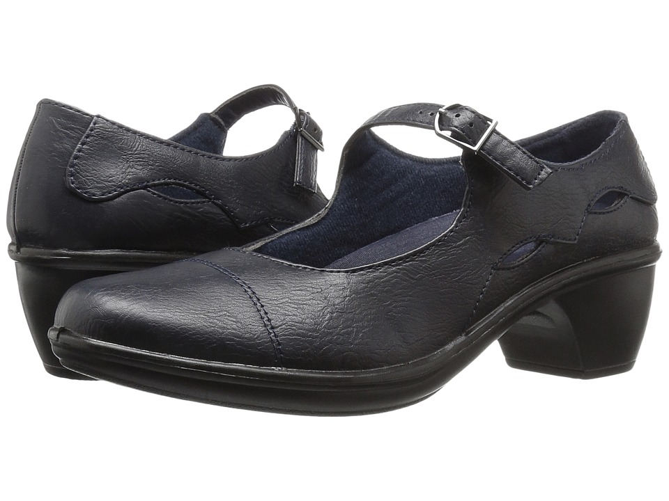 Easy Street - Perla (Navy) Women's Shoes