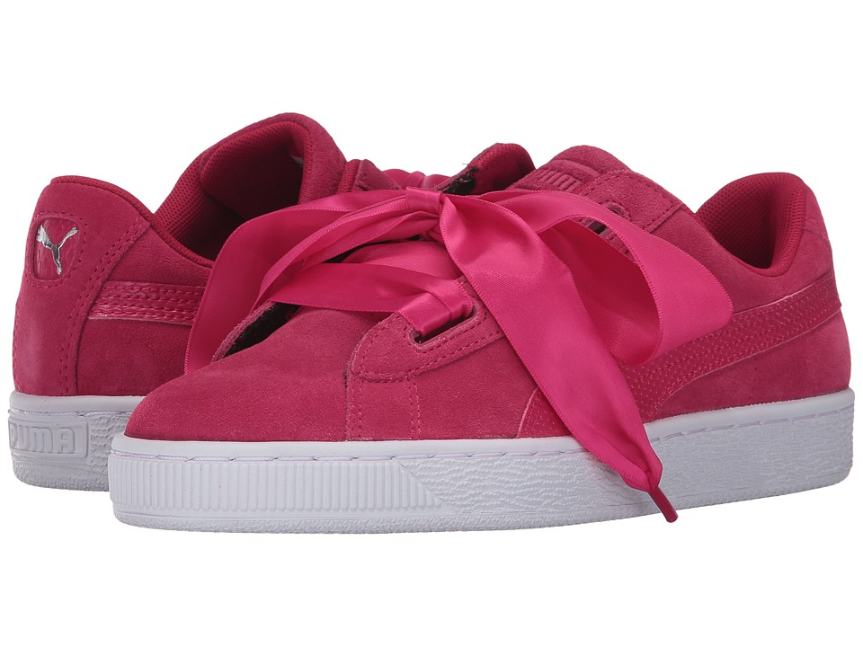 Puma Kids Suede Heart SNK (Big Kid) (Love Potion/Love Potion) Girls Shoes