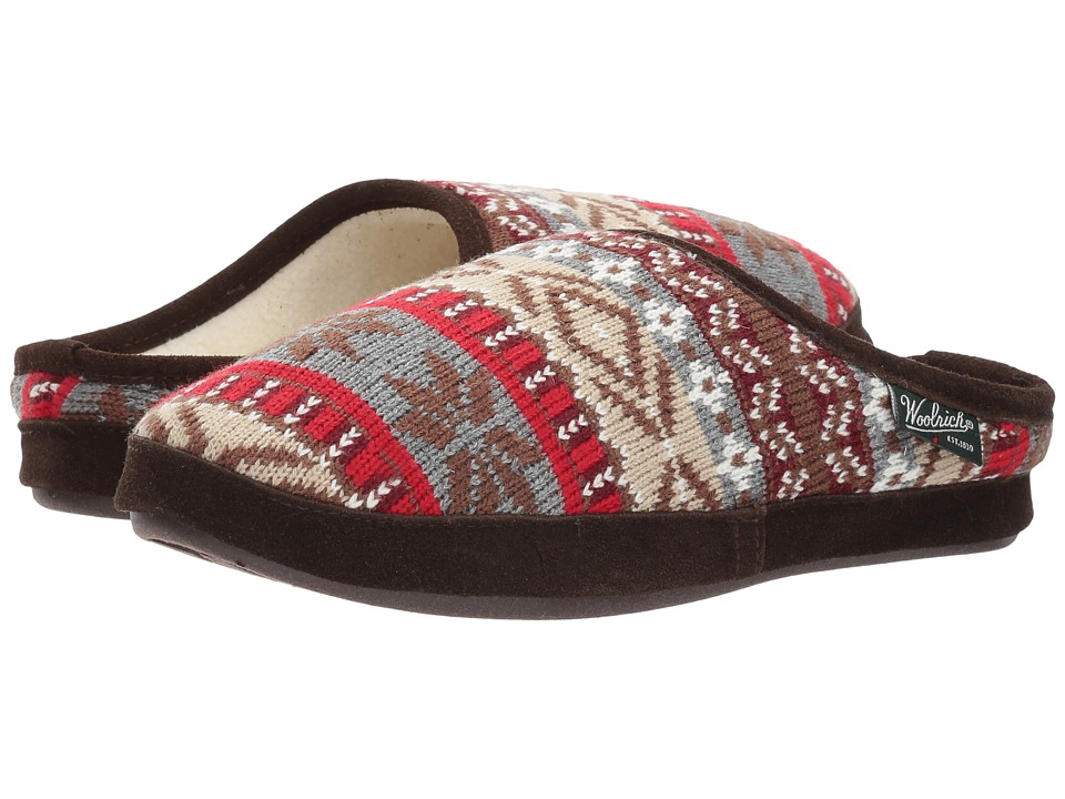 Woolrich Whitecap Knit Mule (Kendall Creek) Women