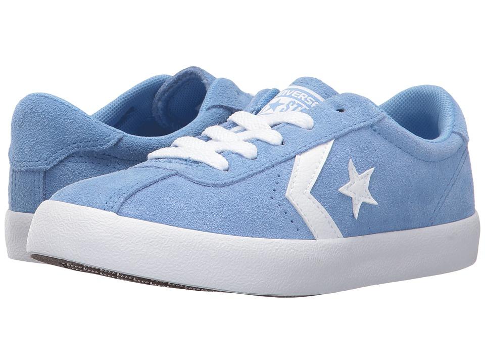 Converse Kids Breakpoint Suede Ox (Little Kid/Big Kid) (Pioneer Blue/Pioneer Blue/White) Girl