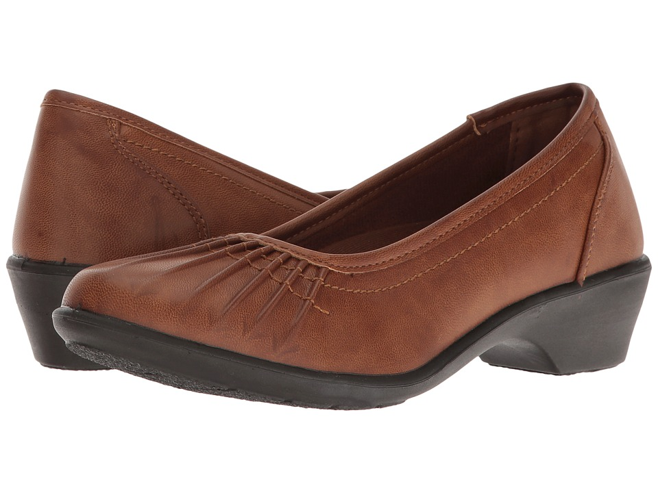 Easy Street - Trinnie (Tan Burnished) Women's Shoes