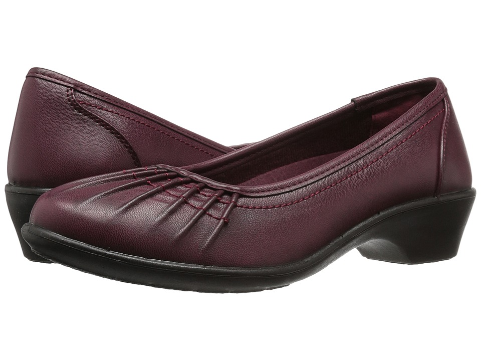 Easy Street - Trinnie (Burgundy Burnished) Women's Shoes