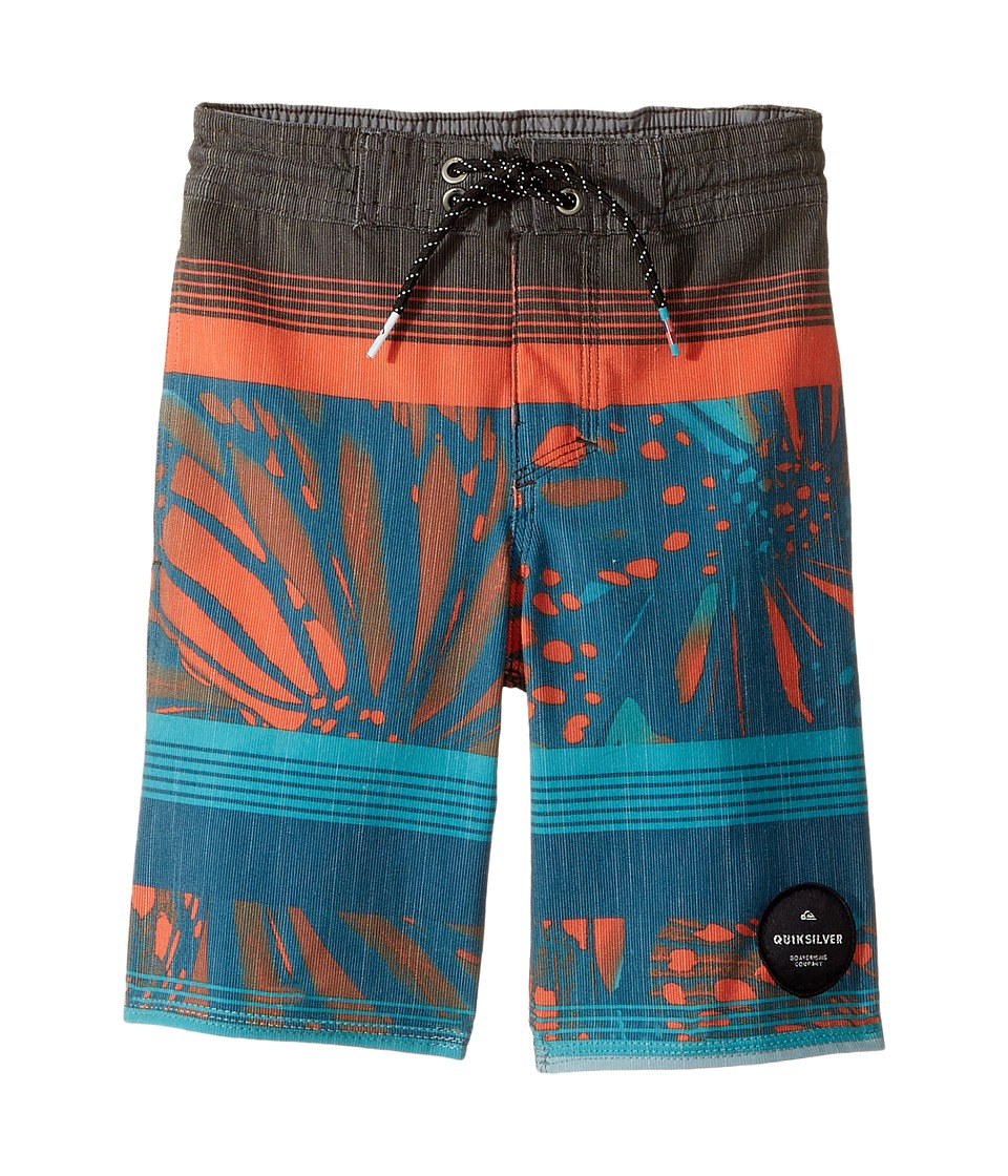 Quiksilver Kids - Swell Vision PR Beach Shorts (Toddler/Little Kids) (Tarmac) Boy's Swimwear
