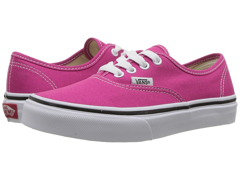 Vans Kids - Authentic (Little Kid/Big Kid) (Very Berry/True White) Girls Shoes