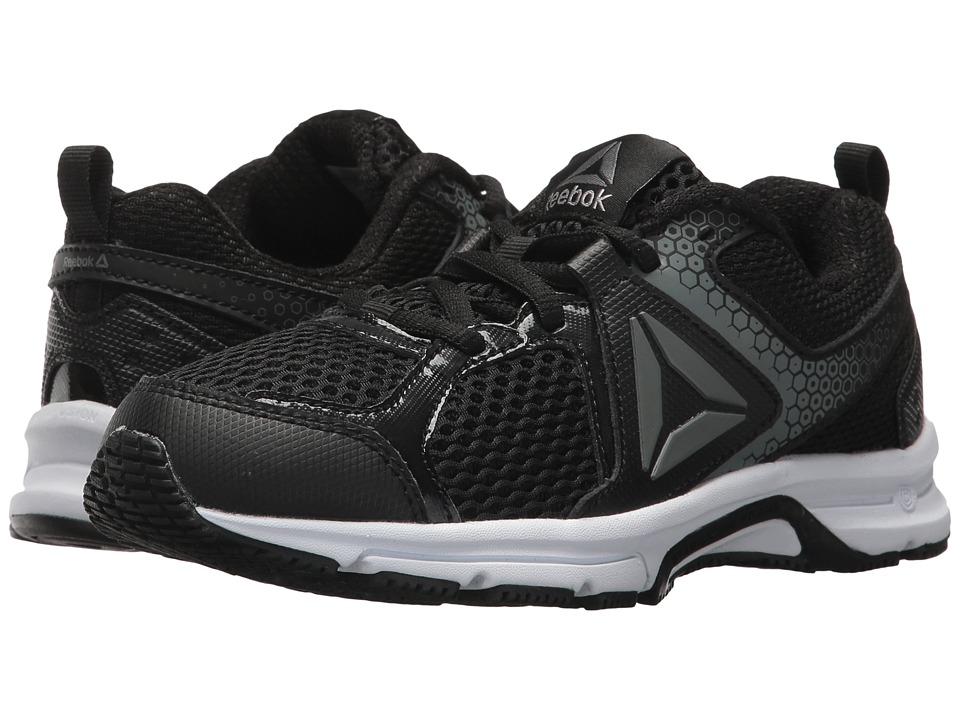 Reebok Kids Runner 2.0 (Little Kid/Big Kid) (Black/Pewter/Steel 1) Boys Shoes