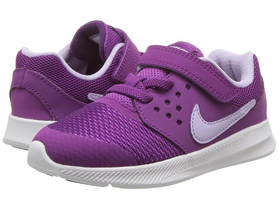 Nike Kids Downshifter 7 (Infant/Toddler) (Night Purple/Violet Mist/Bold Berry) Girls Shoes