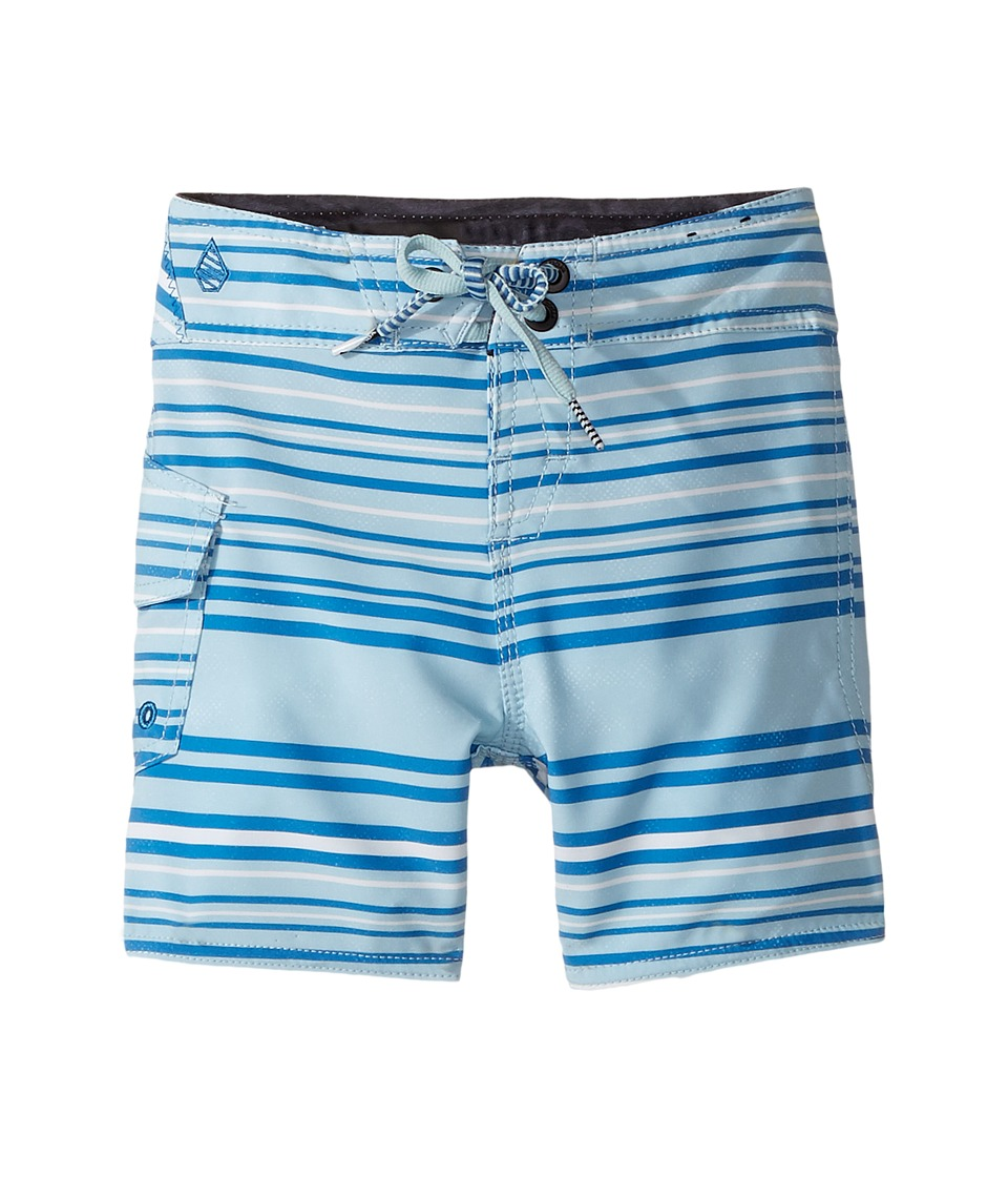 Volcom Kids Magnetic Liney Mod Boardshorts (Toddler/Little Kids) (Cloud Blue) Boy