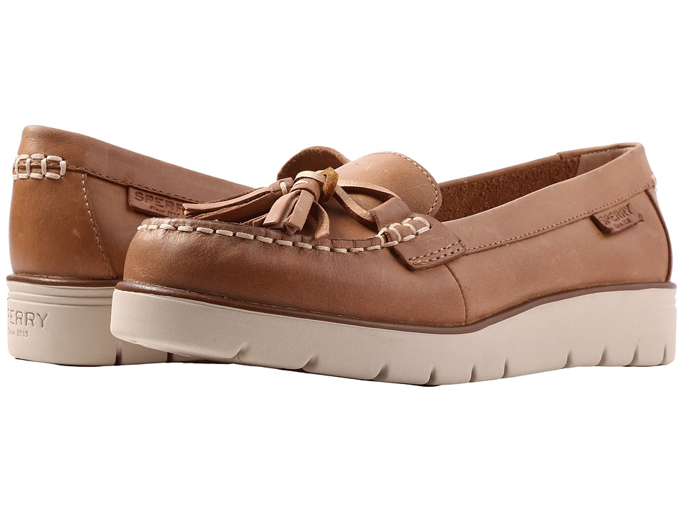 Sperry - Azur Cast (Tan) Women's Slip on Shoes