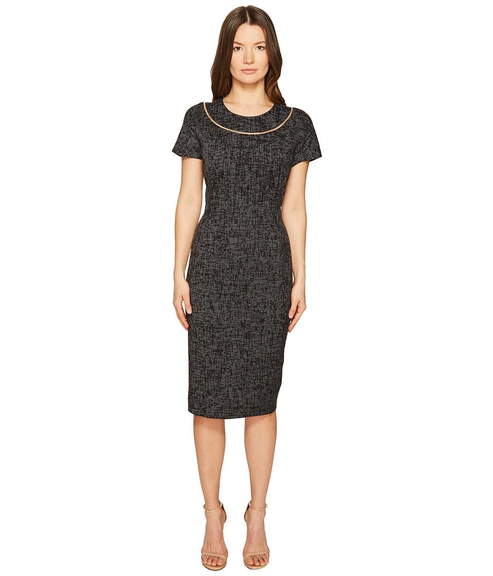 ESCADA Dsill Short Sleeve Fitted Dress