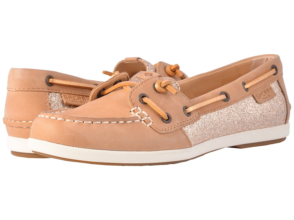 Sperry Coil Ivy Sparkle (Linen) Women