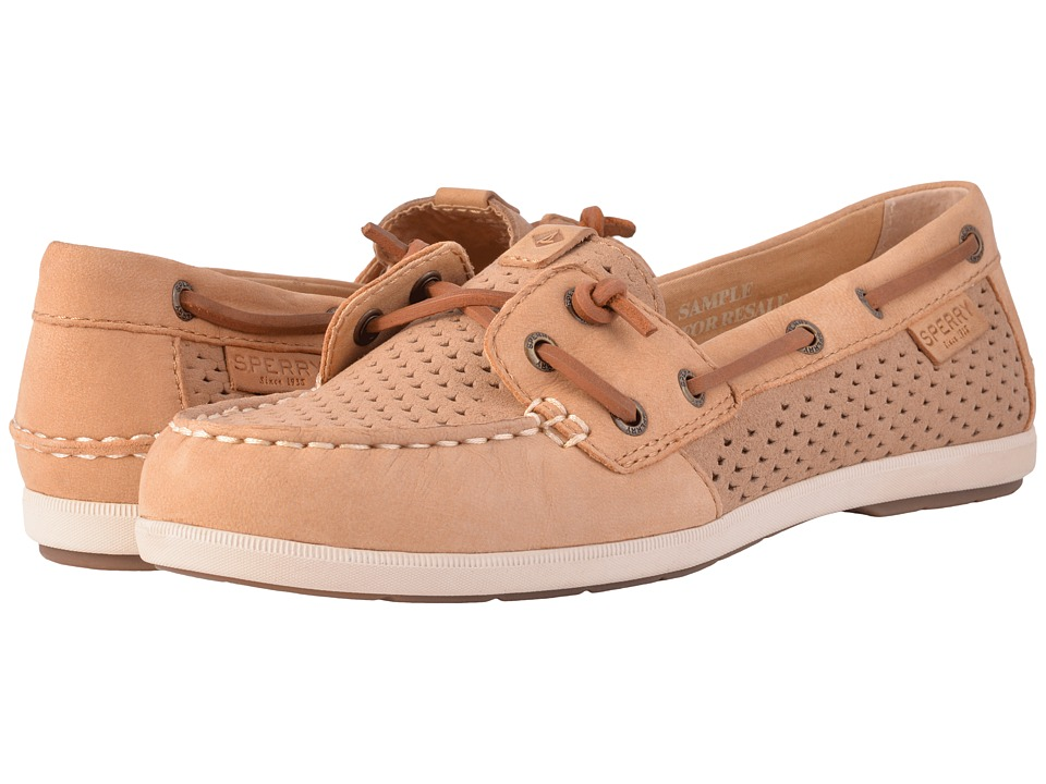 Sperry - Coil Ivy Scale Emboss (Linen) Women's Slip on Shoes