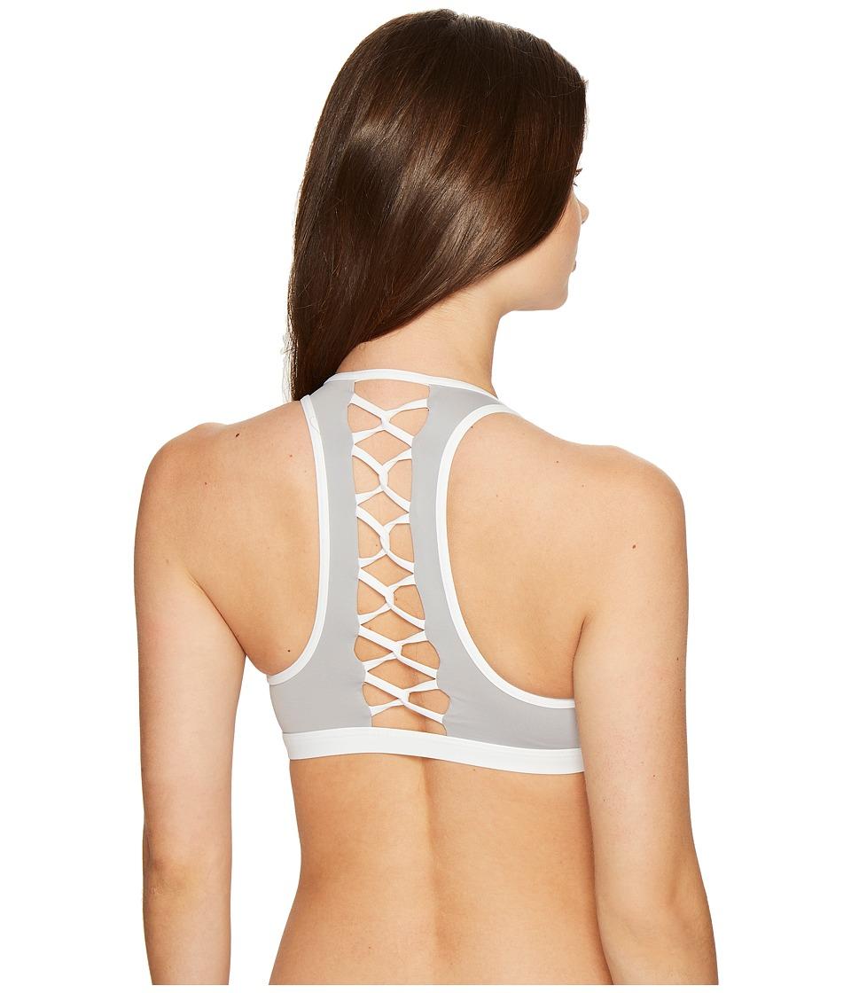 L*Space - Skylar Top (Fog Grey) Women's Swimwear