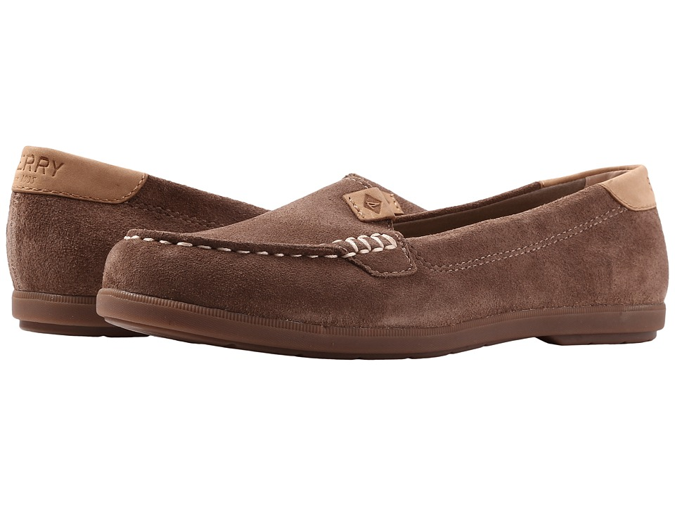Sperry Coil Mia Suede (Taupe) Women