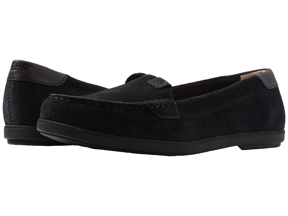Sperry Coil Mia Suede (Black) Women
