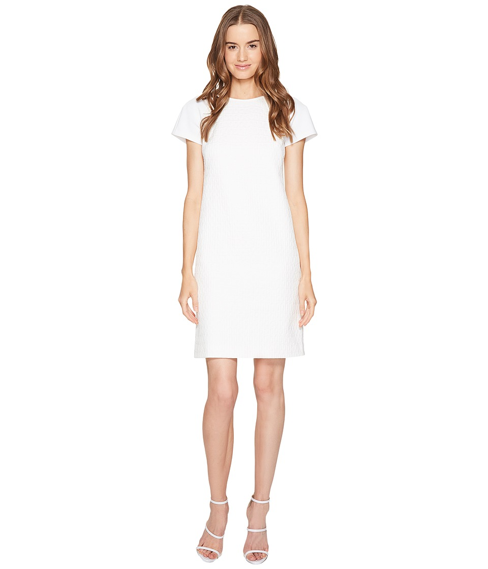 ESCADA Sport - Dastruc Short Sleeve Tunic (Off-White) Women's T Shirt