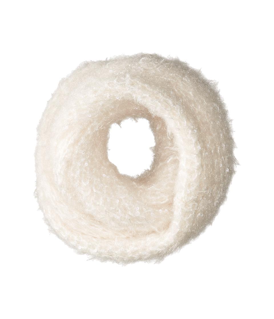 Betsey Johnson - Fuzzy Wuzzy Knit Snood (Ivory) Scarves