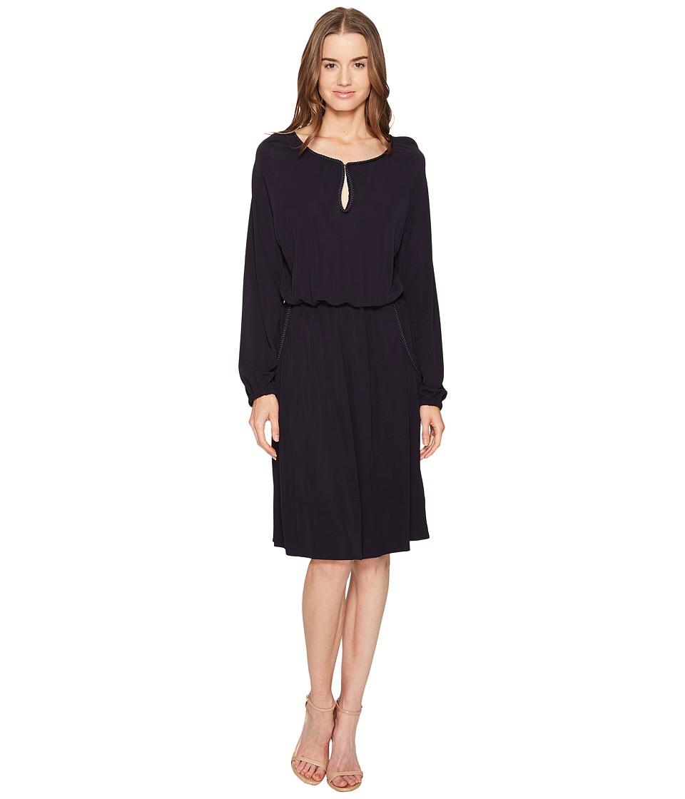 ESCADA Sport - Danwool Long Sleeve Dress (Zero Ocean) Women's Dress