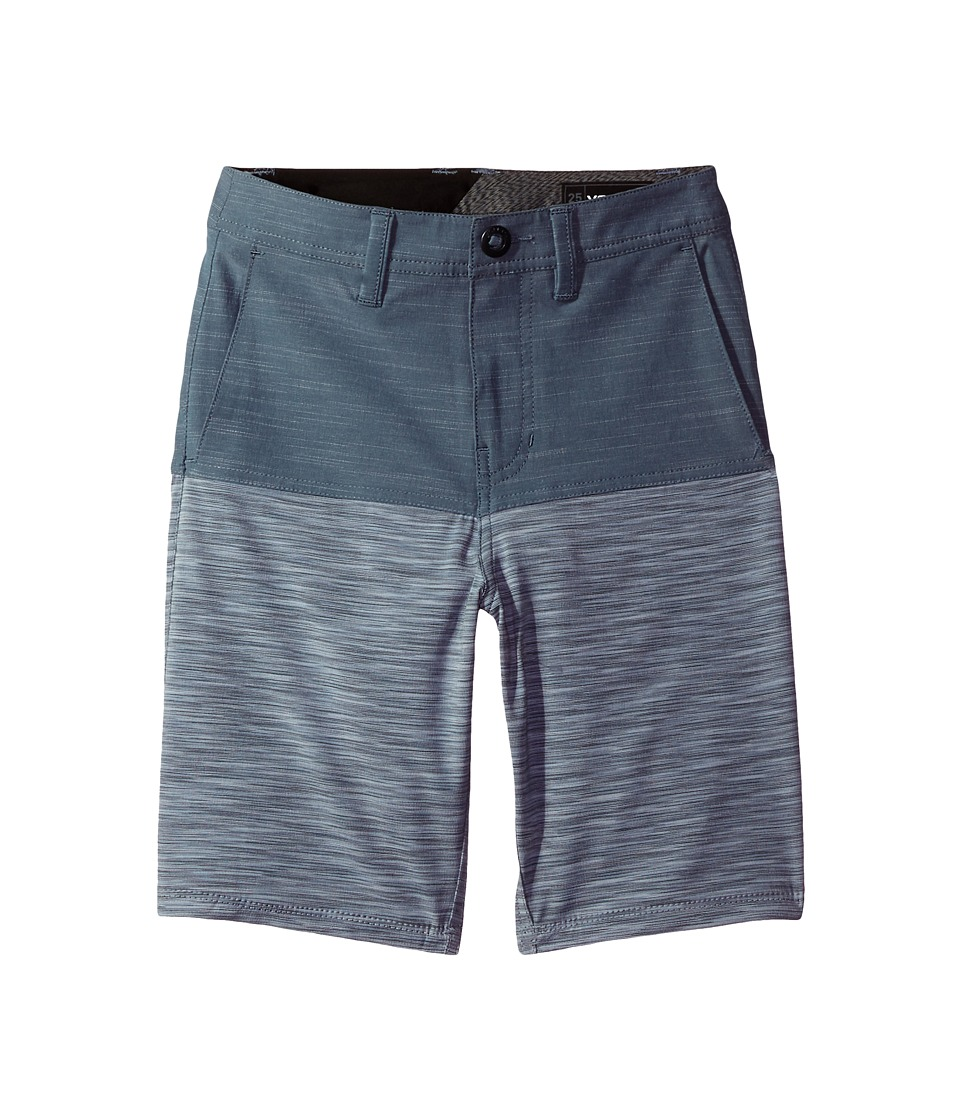 Volcom Kids - Frickin SNT Block Shorts (Big Kids) (Storm Cloud) Boy's Shorts