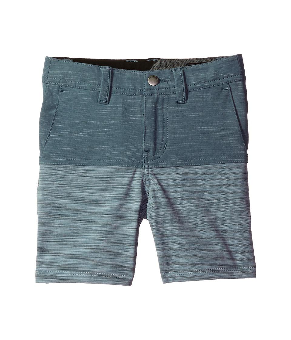 Volcom Kids - Frickin SNT Block Shorts (Toddler/Little Kids) (Storm Cloud) Boy's Shorts