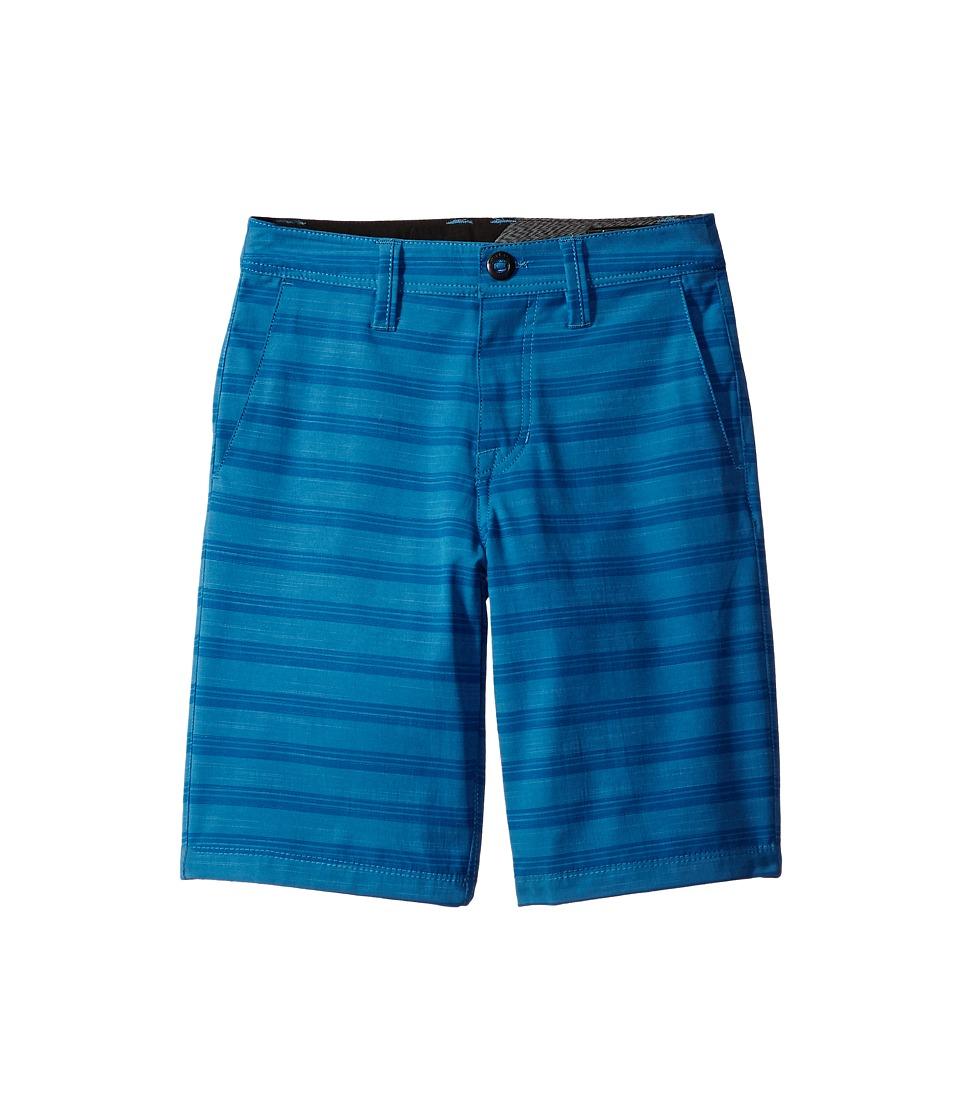 Volcom Kids - Frickin SNT Mix Shorts (Big Kids) (Mayan Blue) Boy's Shorts