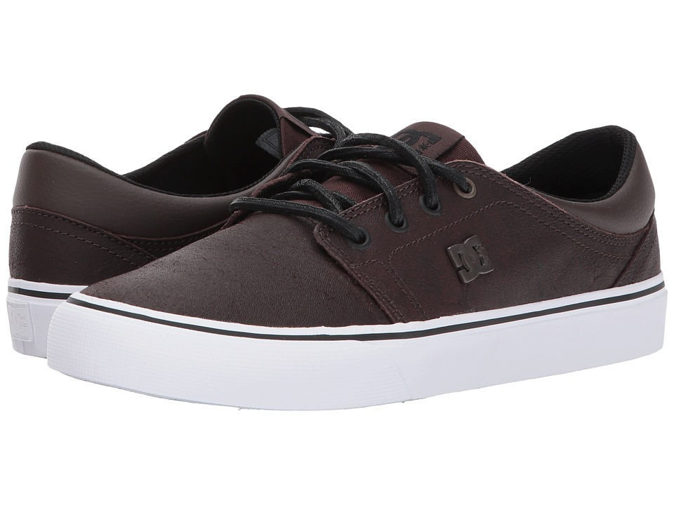 DC Trase LE Brown Dark Chocolate Womens Skate Shoes