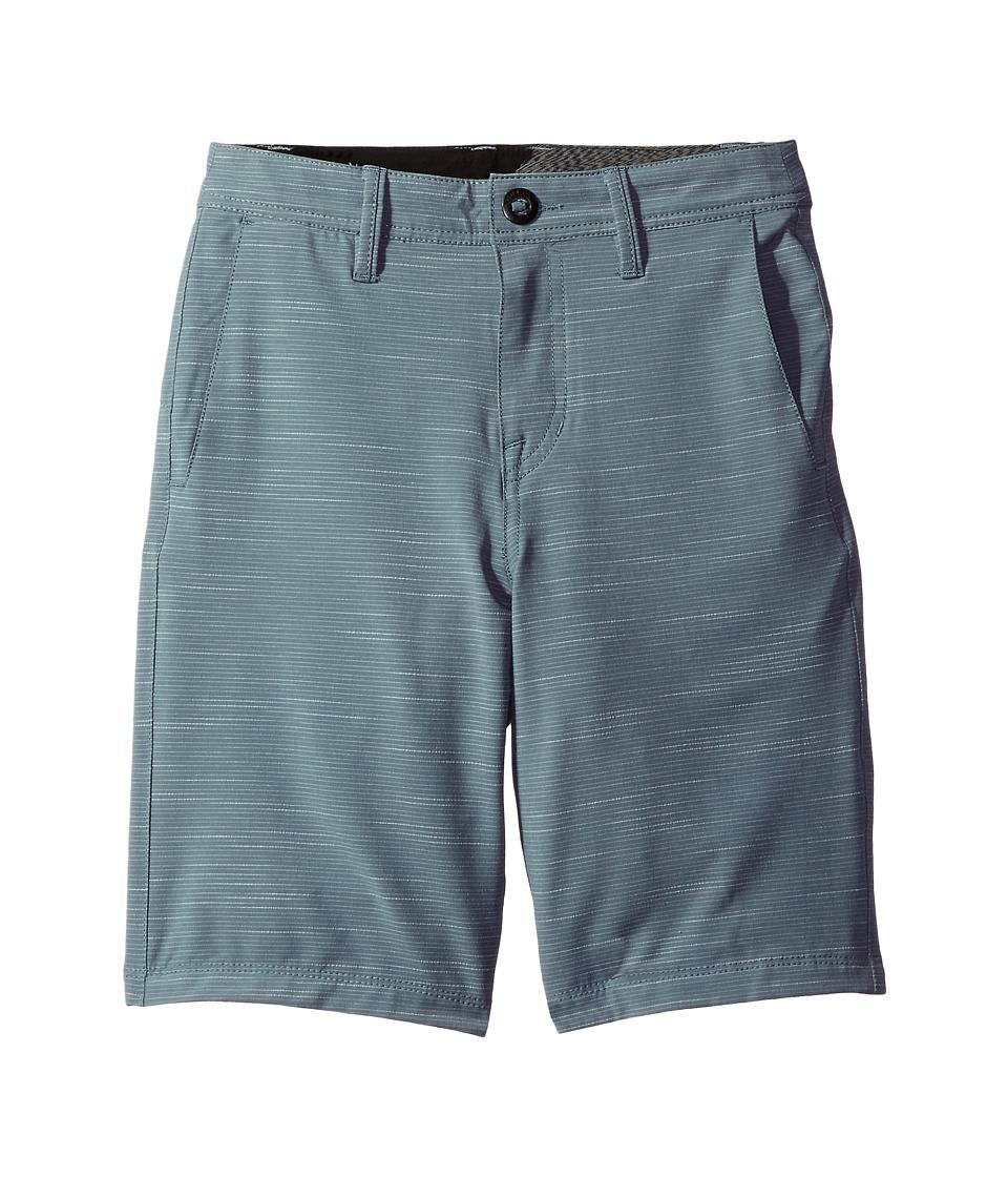 Volcom Kids - Frickin SNT Slub Short (Big Kids) (Storm Cloud) Boy's Shorts