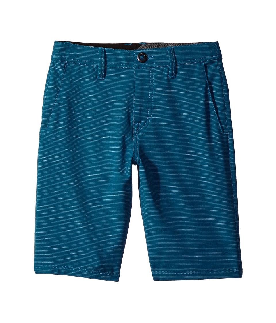 Volcom Kids - Frickin SNT Slub Short (Big Kids) (Flight Blue) Boy's Shorts