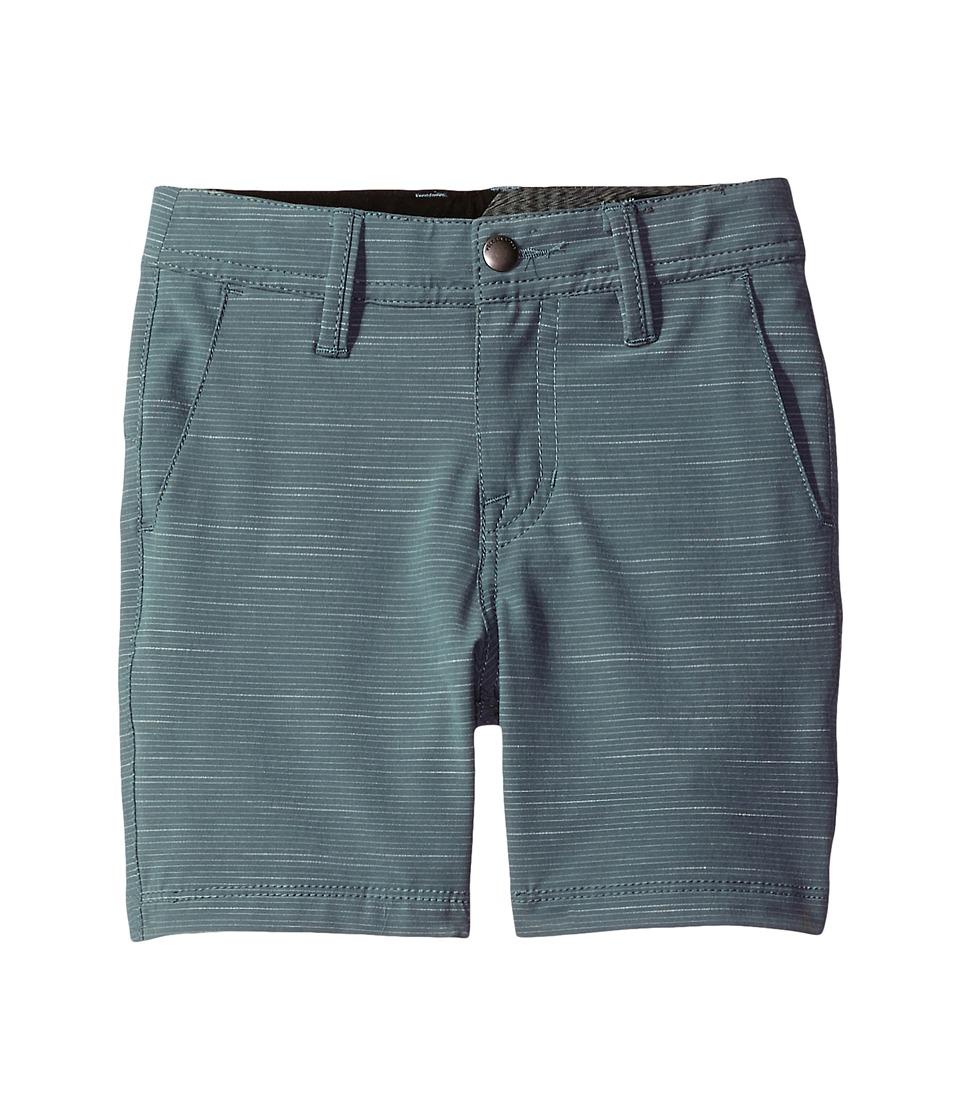 Volcom Kids - Frickin SNT Slub Short (Toddler/Little Kids) (Storm Cloud) Boy's Shorts
