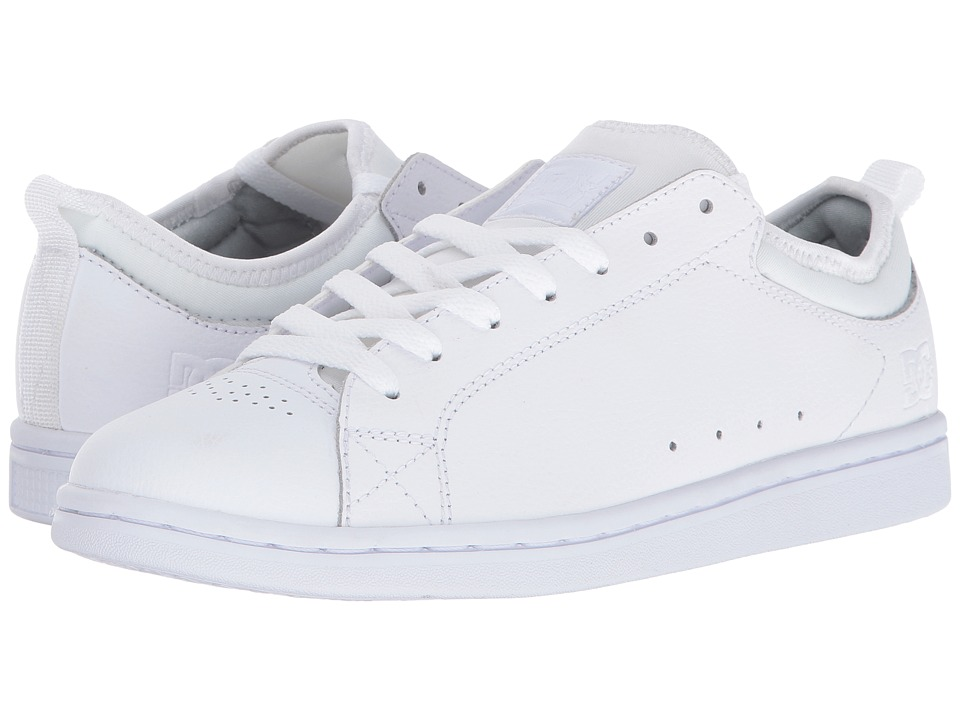 DC - Magnolia (White/White/White) Women's Skate Shoes