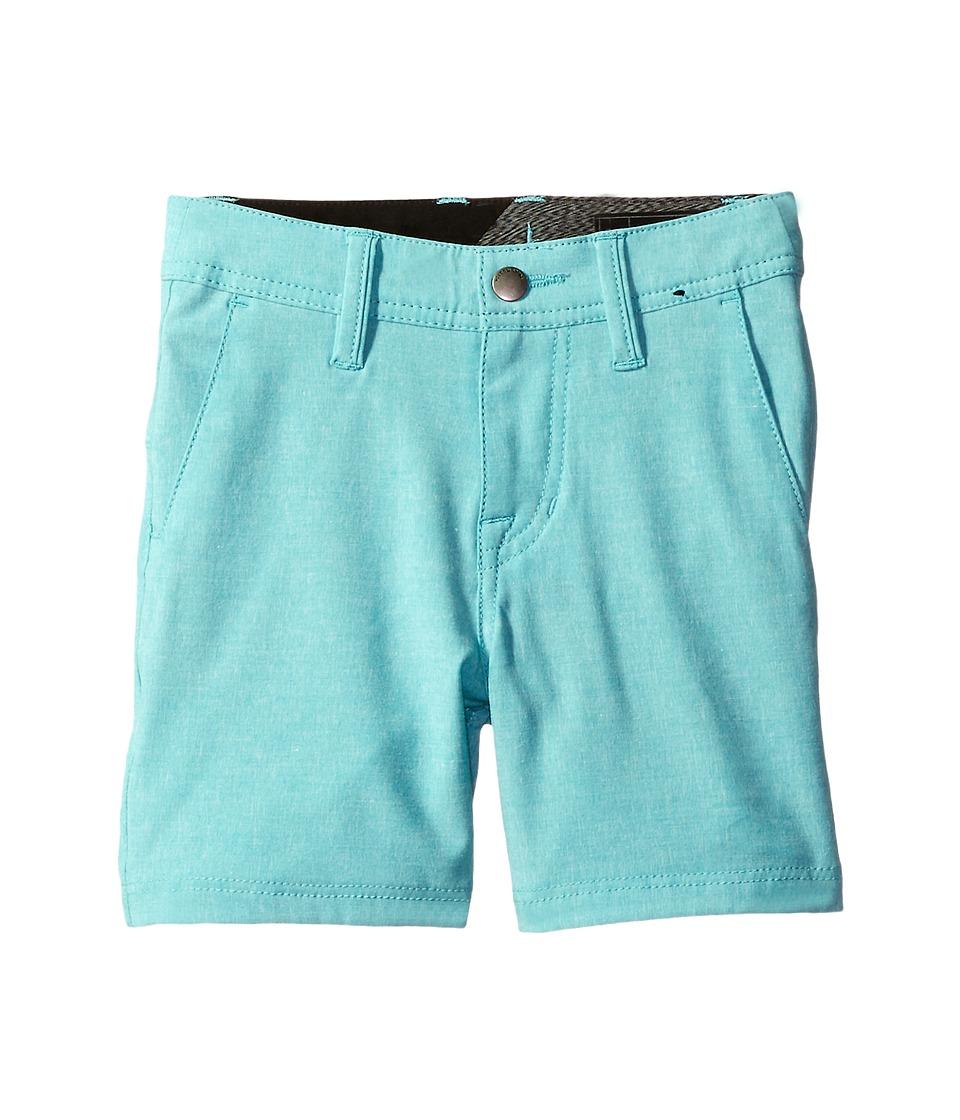 Volcom Kids - Frickin SNT Static Shorts (Toddler/Little Kids) (Aqua) Boy's Shorts